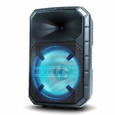"""ION TOTAL PA MAX Audio - 15"""" 500W 2-Way PA Speaker - Black -MISSING REMOTE CONTR"""