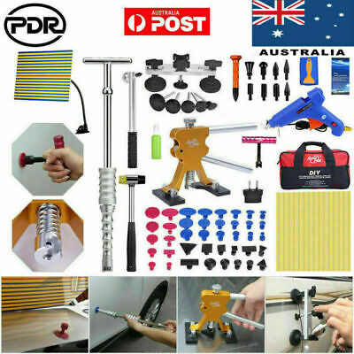 PDR Paintless Dent Removal Lifter Puller Hammer Line Board Hail Repair Tools Kit