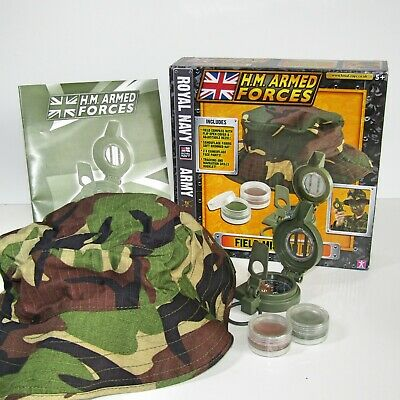 RARE Character Options HM Armed Forces Field Mission Set Compass/Hat/Face Paints