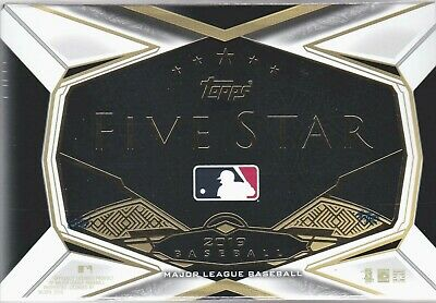 2019 Topps Five Star Hobby Box Factory Sealed