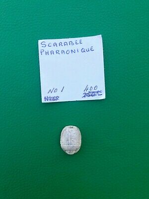 Pharaonic Scarab Amulet seal Egyptian