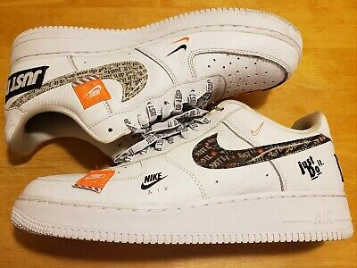 AUTHENTIC NIKE Air Force 1 '07 LV8 Chenille Swoosh Muted