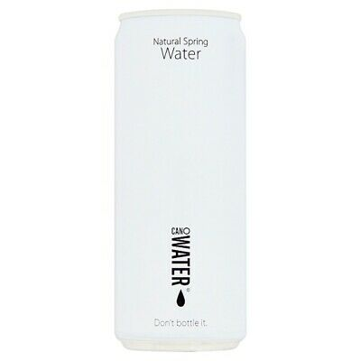 CanO Water Natural Spring Water Ringpull 330ml Case Of 24