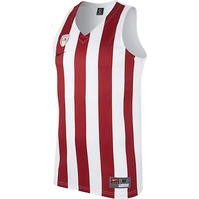 Olympiacos BC Replica Men's Basketball Jersey - White 883426-100 XL