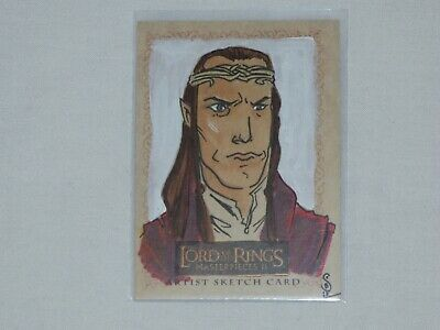 Lord Of The Rings Masterpiece 2 Sketch Card In Mint Condition