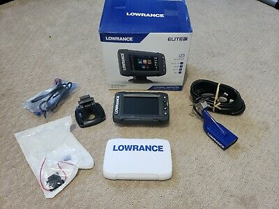 Lowrance Elite-5 Ti Touch Combo with CHIRP Sonar /& HDI Transducer  000-12421-001