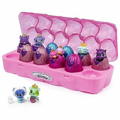 Hatchimals Colleggtibles Season 6 12 pack Royal hatch jewelry box W/ 2 exclusive