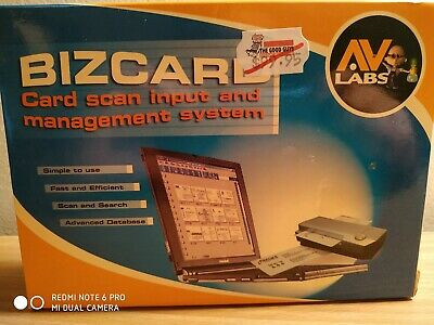 AV Labs Bizcard Card Scan Input Management System