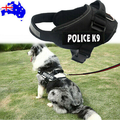 Control Adjustable Large Small Dog Pulling Harness Support Comfy Pet Training OZ
