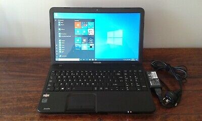 Refurbished TOSHIBA C850D Laptop Windows 10 Home 8GB RAM 240GB SSD - NICE!
