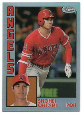 2019 Topps Chrome 1984 Topps Refractors Pick Any Complete Your Set