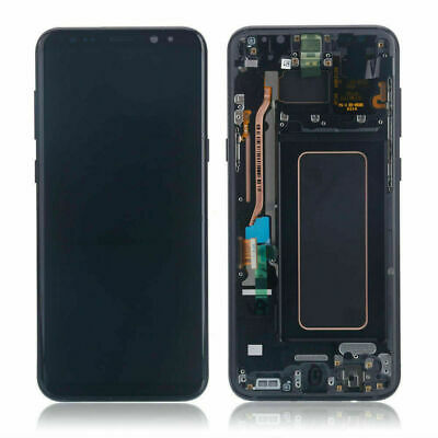 For Samsung Galaxy S8   S8 Plus LCD Replacement Screen Digitizer With Frame