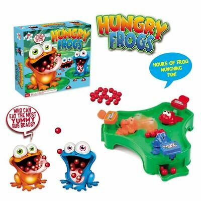 Hungry Frogs Munching Marble Grab Children Board Game Toy Adults And Children