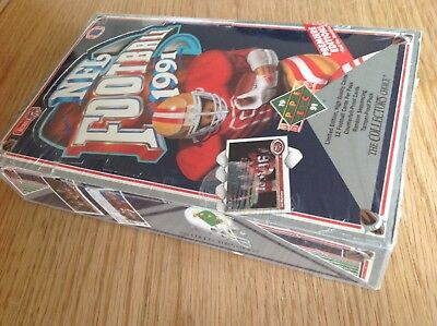 UNOPENED Box Premier Ed. Upper Deck 1992 NFL American Football TRADING CARDS