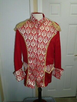 Prince Charming  tunic red medium size pantomime theatre