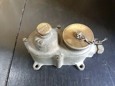 Vintage Industrial Walsall Galvanised Rotary Light Switch With Plug Socket