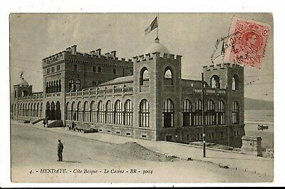 CPA-Carte Postale -FRANCE - Hendaye - Côte Basque -Le Casino en 1912 VM6031