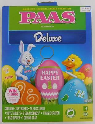 PAAS EGG DECORATING Kit Color Cups Egg Coloring Kit New ...