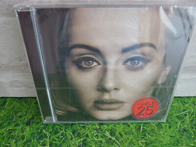 ADELE Album 25 CD 11 Track Still Sealed  Title Sticker On the front wrapping