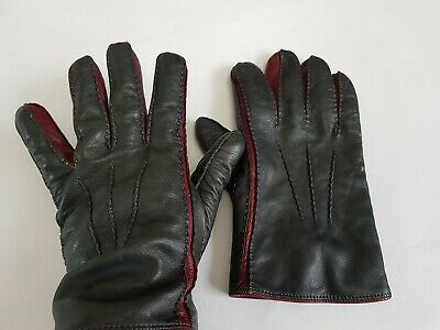 Salvatore ferragamo Real Leather Cashmere Lining Gloves size 8 RN136180843