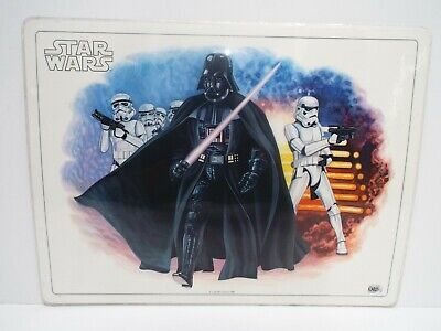 """1982 Star Wars Icarus Postermat Laminated 16"""" X 12""""  Excellent  (B39)"""