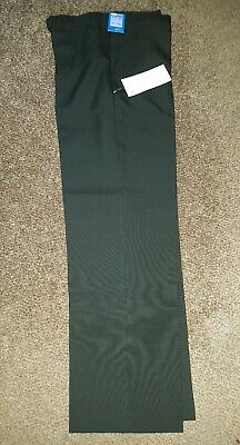 Marks and Spencer boys black school trousers bnwt age 13 years