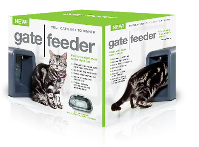 Gate Feeder with Automatic Programmable Smart tag cat food bowl