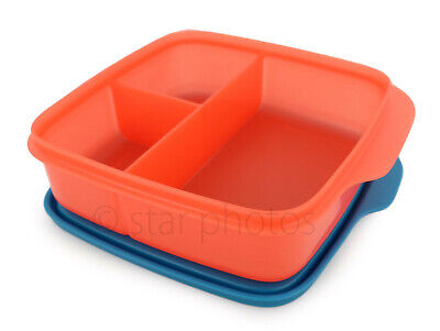 Tupperware Lunch It Divided Lunch Container Lunchit in Hot Pepper - NEW!