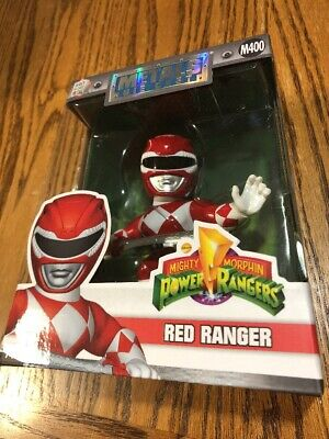 Mighty Morphin Power Rangers Metals Collectible Die-Cast Figure Red Ranger *NEW*