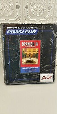 Pimsleur SPANISH III Level 3 Comprehensive Language 16 CD's learn 30 Lessons 706