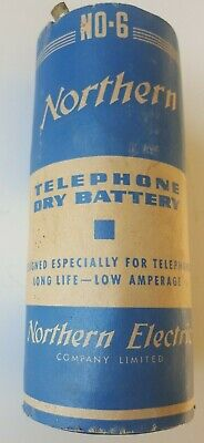 Northern Electric Dry Cell Ignition Battery No. S6 Radio Telephone