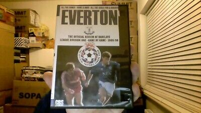 Everton - The Official 1989/90 Season Review (VHS To Dvd )