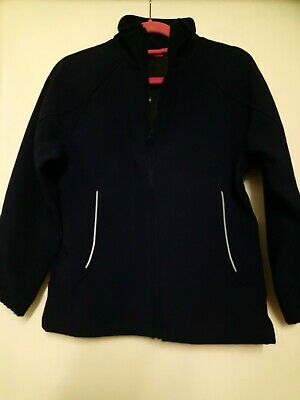 Age 11/12 Navy Trutex Fleecy Lined Jacket... Free P&P!!