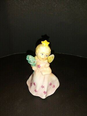 """Precious VTG Goebel Sacart Collection 2""""H 'Angel With Star on Head"""