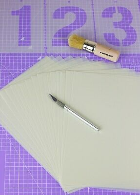 Genuine Mylar Sheets for Stencil Cutting 190 Microns Blank Film Laser Food Safe