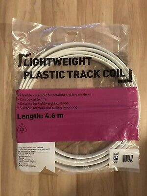 Lightweight plastic track coil Straight And Bay Windows With Fittings 4.6 Metres