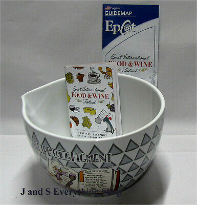 2019 Epcot Food and Wine Festival Passholder Figment Large Mixing Bowl Disney