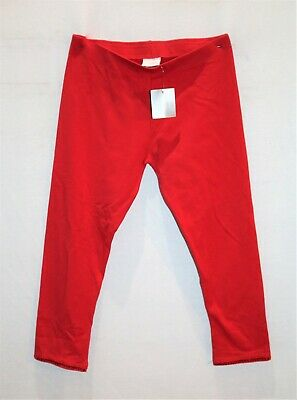 NEXT Brand Girls Red Sequin Hem Detail Legging Pants Size 11 yrs BNWT #GIRL2