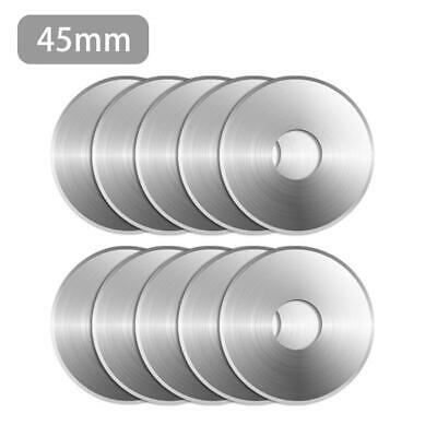 10pcs 18MM/45MM Roller Cutter Rotary Cutters Blades Sewing Quilting Fits Crafts