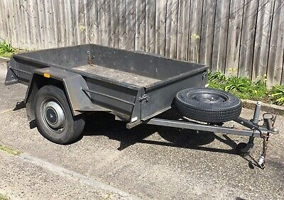 6x4 Box trailer + Spare Tyre - Very Good Condition