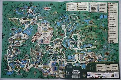 BUSCH GARDENS TAMPA Bay Florida Amut Park Map Vintage ... on epcot map, knott's berry farm map, location of seoul korea on the map, busch gardens park map, theme amusement park map, balboa park san diego ca map, downtown disney map, seaworld map, christmas town busch gardens map, kings island map, kiddieland map, cedar point map, magic kingdom map, animal kingdom map, disney world map, sesame place map, ghost town in the sky map, disney's hollywood studios map, six flags darien lake map, six flags magic mountain map,