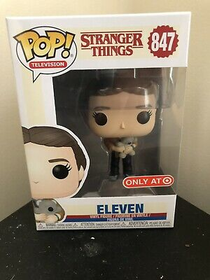 Funko POP! 847 Eleven with Bear Stranger Things El Target Exclusive IN HAND
