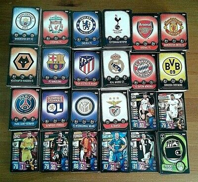 Match Attax Champions League 19/20 Base Cards (Badge,Players,Duo) # 1-252 - Pick