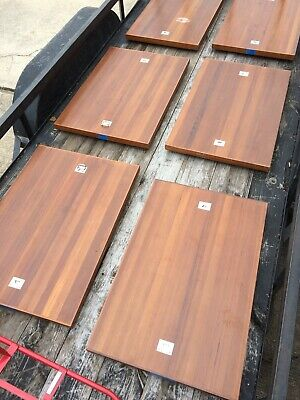 Vintage TEAK Yacht Boat Hatch Cover For Table Top Repurpose