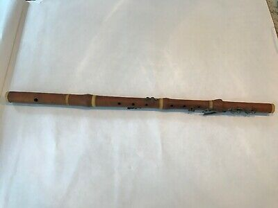 Antique 1815-1819 ASTOR HORWOOD English London Early Flute Boxwood England