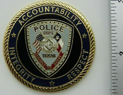 Bellmead Police Dept. Texas  Challenge Coin  NEW
