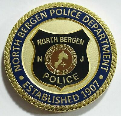 North Bergen Police Department New Jersey Challenge Coin NEW
