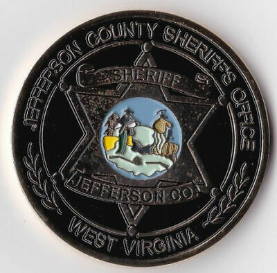 Jefferson County Sheriff's Office West Virginia WV Challenge Coin NEW