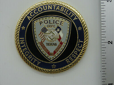Bellmead Police Dept. Texas Police Challenge Coin NEW