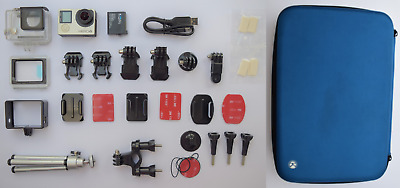 GoPro Hero 4 Silver 4K Ultra HD Action Camera + Accessories